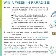 Fiji Kids - win a week in paradise